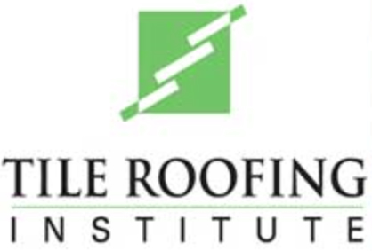 Vertical Logo for Tile Roofing Insitute