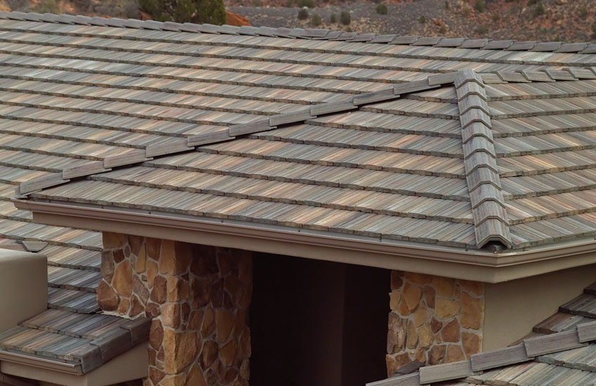 Flat Concrete Roof Tiles